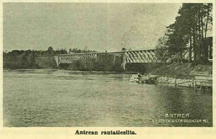 Antrean Asemalta Karjalan 9 1970 Bridge