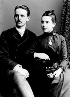 Gimpel with wife