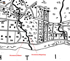 map Uotinen King Kirchner 1902