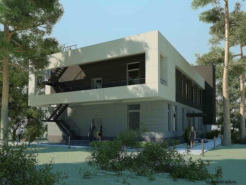 Новый корпус Зеленогорской ветеринарной лечебницы