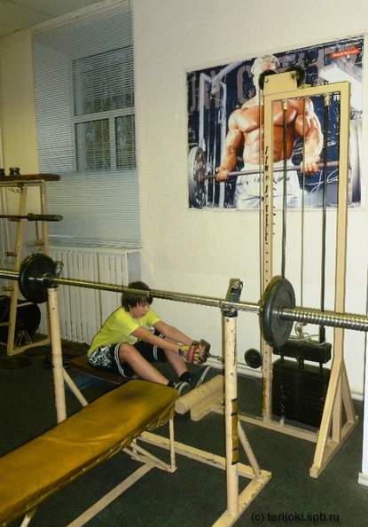 Снайпер: секция атлетизма