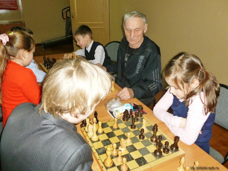 Снайпер: секция шахмат