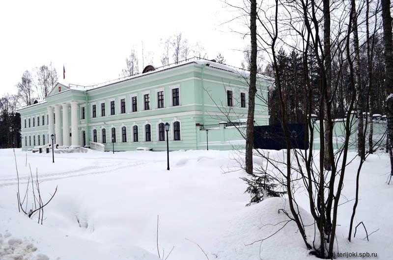 Новое здание федерального суда в Зеленогорске