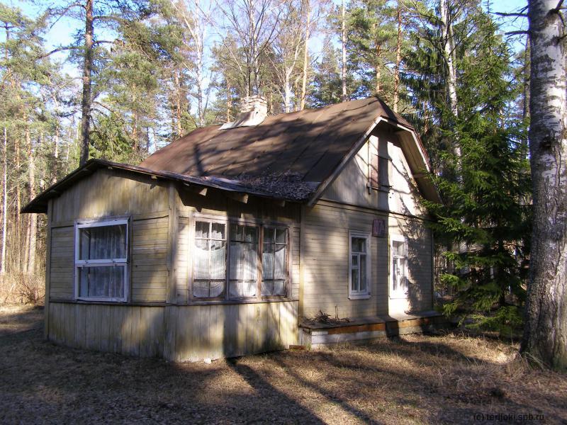 Бывшая баня на участке Вегнера, фото 2007 г.