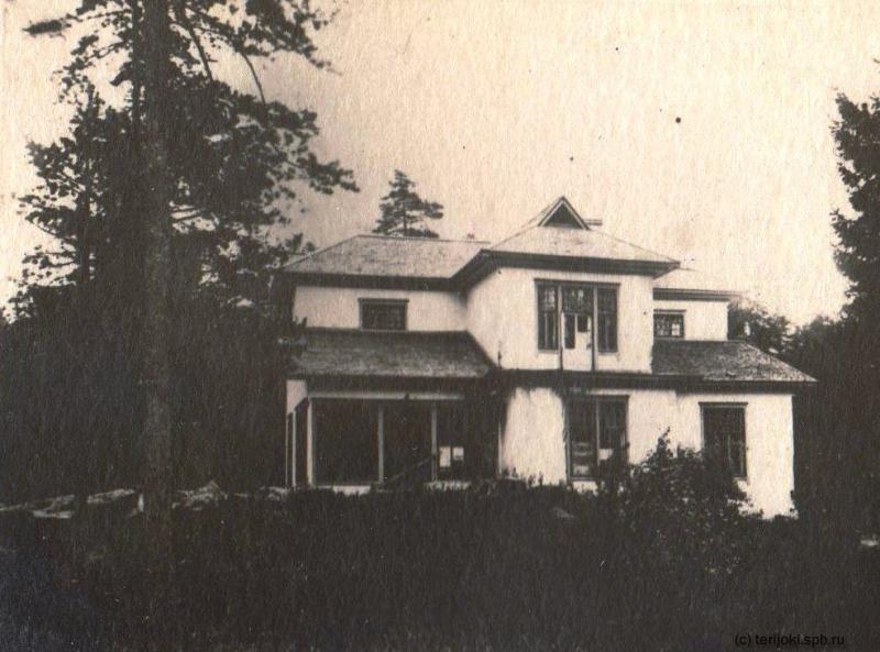 Дача Э. А. Вегнера, послевоенная фотография