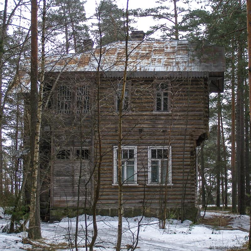 Дача Ф. А. Корзухина, 2006 г. Фото Н. Рогалевой