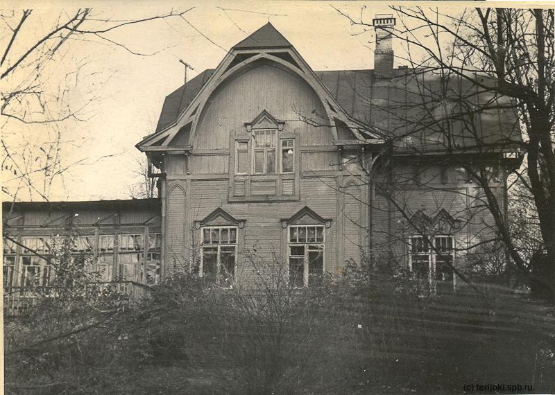 """Санаторий """"Теремок"""" в бывшей даче Адамова, послевоенная фотография"""