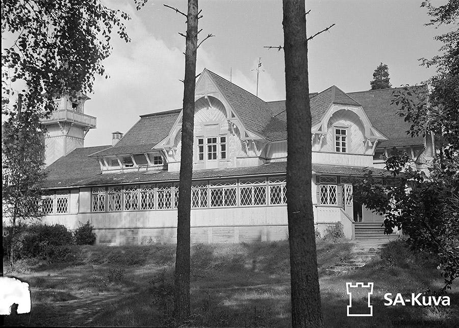 Бывш. вилла «Лепони», Морской курорт Терийоки. 02.09.1941