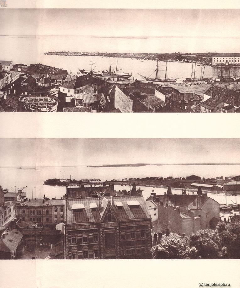 Панорамы Выборга 1865 и 1935 гг. Часть 2