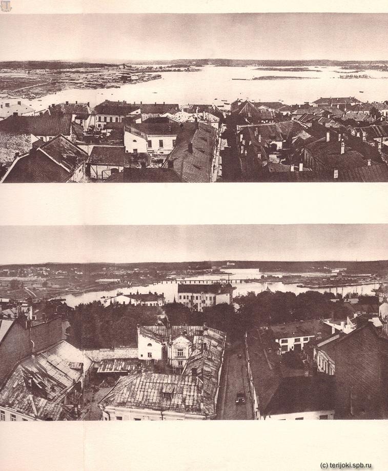 Панорамы Выборга 1865 и 1935 гг. Часть 5