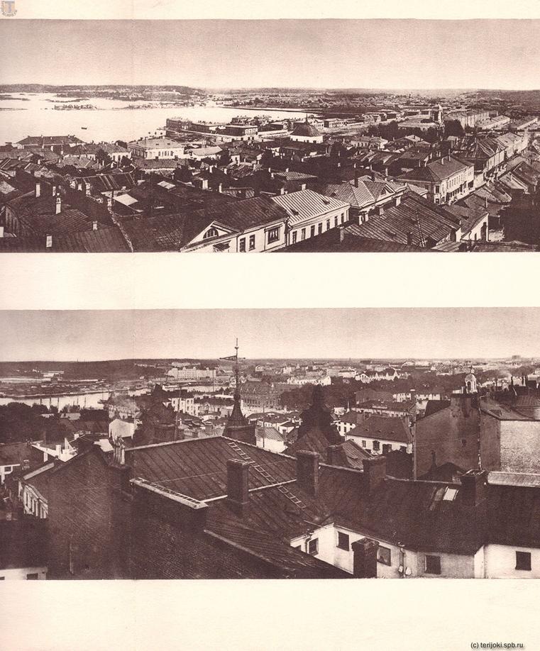 Панорамы Выборга 1865 и 1935 гг. Часть 6