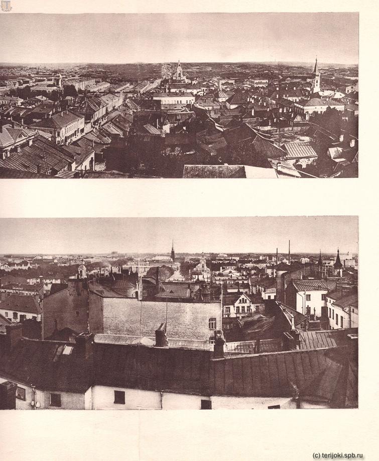 Панорамы Выборга 1865 и 1935 гг. Часть 7