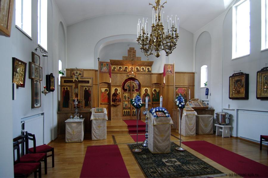 Иконостас Ильинской церкви Хельсинки