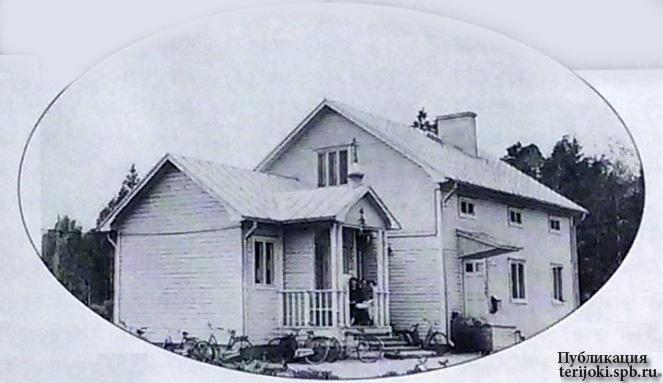 Первый православный храм в Ярвенпяя. Лето 1948 года
