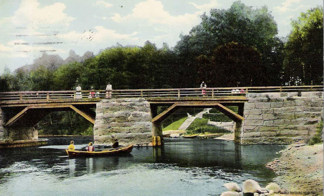 Ваммельсуу. Черная речка, 1910-е годы.