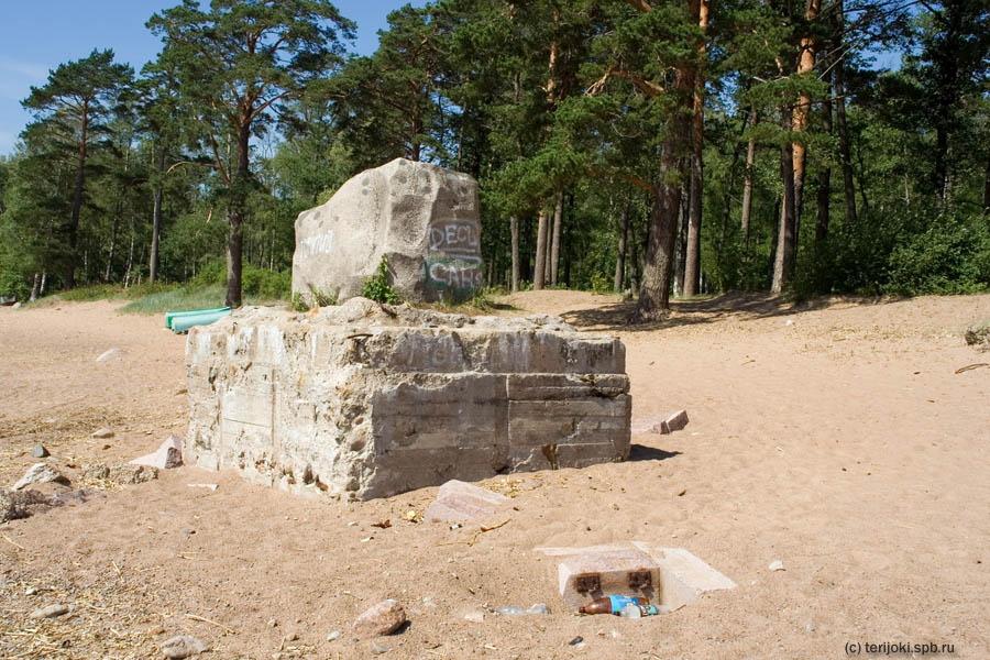Памятный знак на месте убийства М.Я. Герценштейна