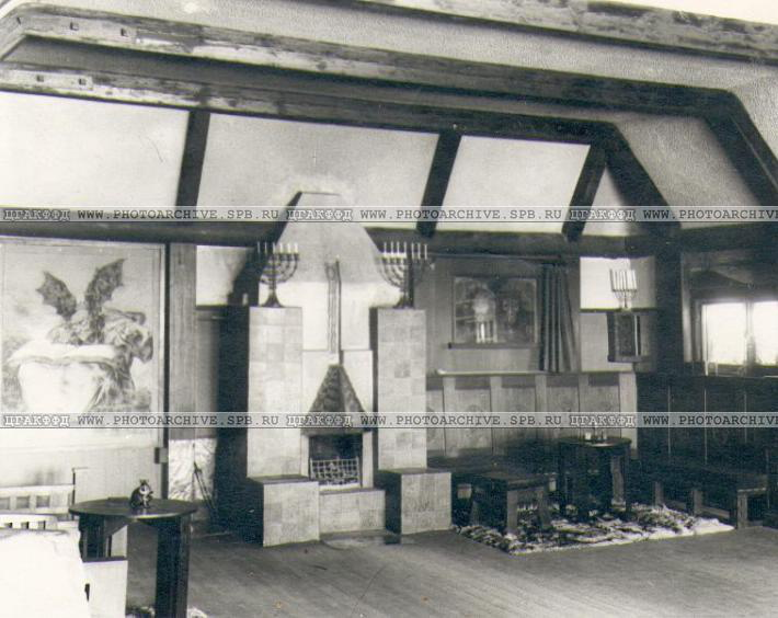Дача Леонида Андреева в Ваммельсуу, фото 1912 года