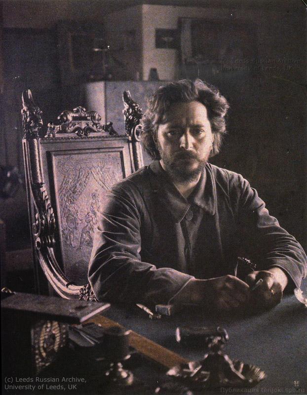 Леонид Андреев. Автопортрет. 1910 год