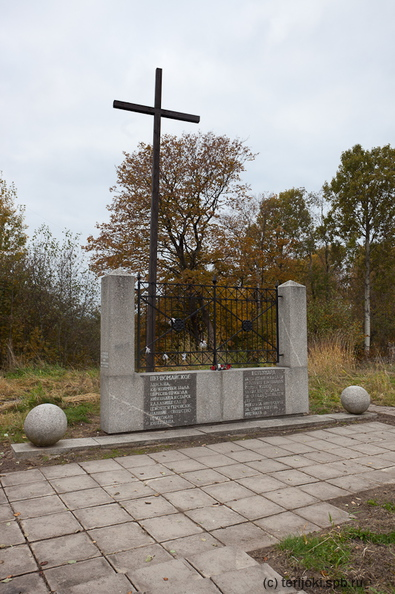 памятник церкви и кладбищу