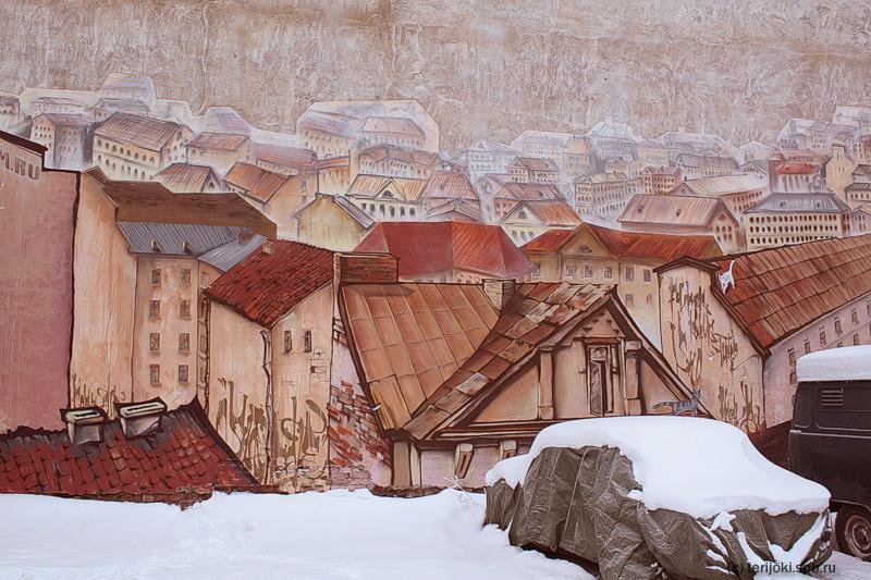 Г. Гуринский. Выборгское граффити