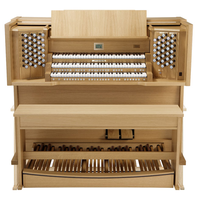 Новый орган Johannus ECCLESIA D450