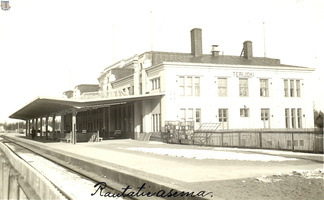 Terijoki railway-station 1933
