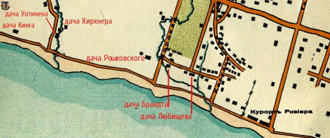 map Roshkovskiy 1909