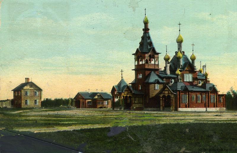 церковь во имя Сошествия св. Духа в Келломяках