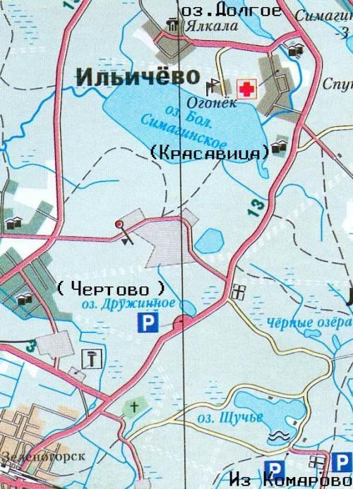 Карта подъезда: